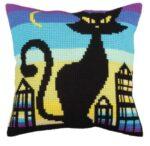 Black Grace 1 Tapestry Cushion Kit