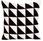 Black & White 1 Tapestry Cushion Kit