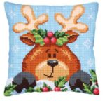 Christmas with Fawn Tapestry Cushion Kit