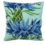 Cornflower Tapestry Cushion Kit