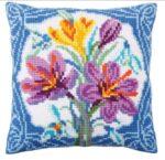 Crocus Tapestry Cushion Kit