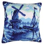 Delftware 1 Tapestry Cushion Kit