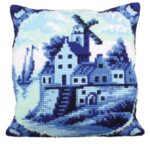 Delftware 2 Tapestry Cushion Kit