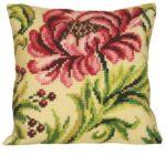 Elegant-Rose-Cushion Tapestry kit