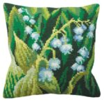 Lilly Of The Valley L Tapestry Cushion Kit