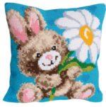 Mr Happy Tapestry Cushion Kit