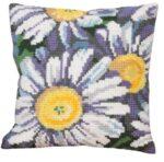 Sunshine Daisies Tapestry Cushion Kit