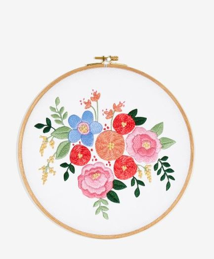 Free DMC Embroidery Pattern