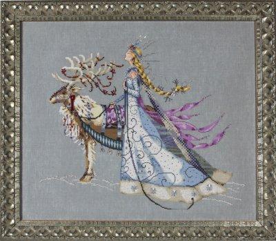 Mirabilia Lady Hera Cross Stitch Pattern