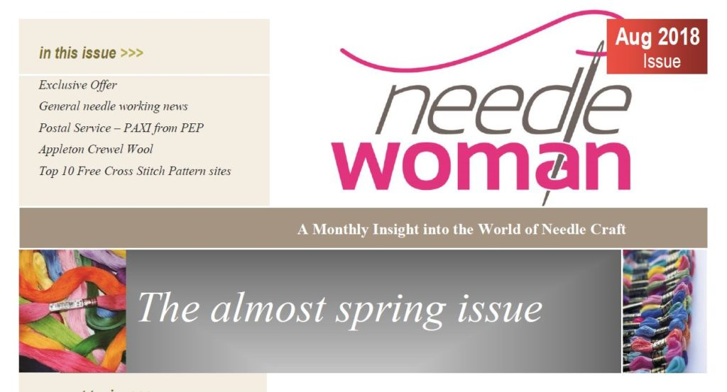 Needle Woman Newsletter