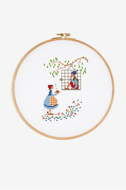 Free DMC Cross Stitch Pattern